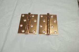 Banho de cobre em aço inox