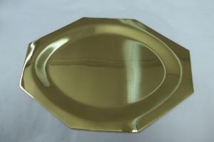 Banho dourado em peças