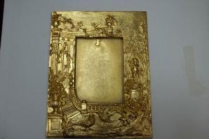 Banho de ouro em objetos